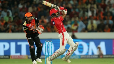 KL Rahul goes for the big one