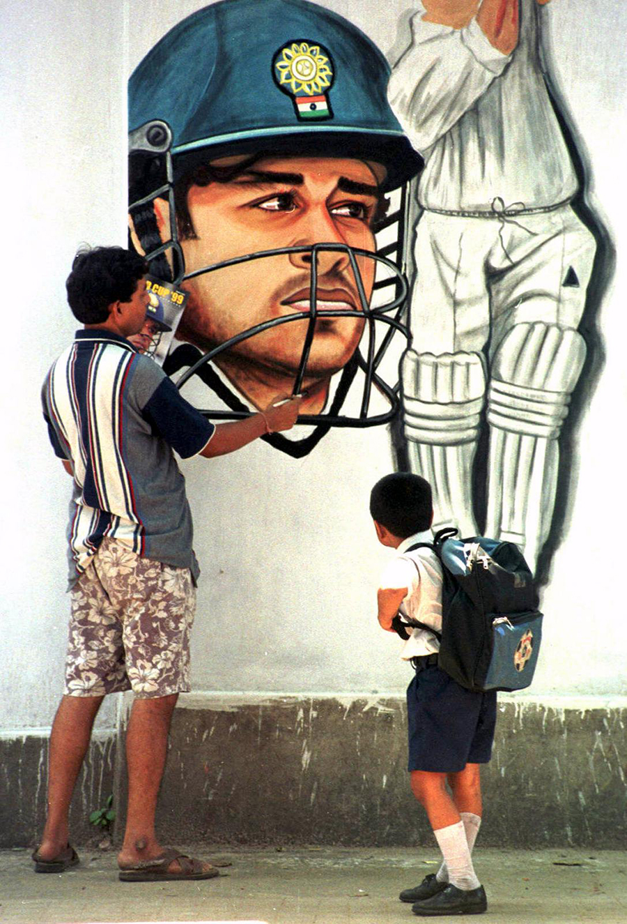 It was easy to love Sachin because he was a canvas on which we could paint our hopes and dreams