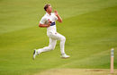 Timm van der Gugten sprints in, Middlsex v Glamorgan, Specsavers Championship, Division Two, Lord's, April 27, 2018