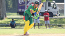 Shane Deitz flicks off his pads for runs through the leg side, Jersey v Vanuatu, ICC World Cricket League Division Four, Bangi, April 29, 2018