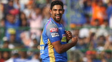 Ish Sodhi is jubilant upon picking up a wicket