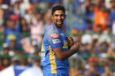 Ish Sodhi is jubilant upon picking up a wicket, Rajasthan Royals v Sunrisers Hyderabad, IPL 2018, Jaipur, April 29, 2018