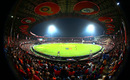 The Chinnaswamy Stadium under lights, Royal Challengers Bangalore v Kolkata Knight Riders, IPL 2018, Bengaluru, April 29, 2018