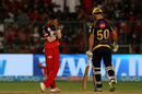 Yuzvendra Chahal reacts to a dropped catch, Royal Challengers Bangalore v Kolkata Knight Riders, IPL 2018, Bengaluru, April 29, 2018