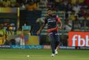 Avesh Khan chases a ball, Chennai Super Kings v Delhi Daredevils, IPL  2018, Pune, April 30, 2018