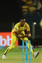 Lungi Ngidi shapes to collect a throw, Chennai Super Kings v Delhi Daredevils, IPL  2018, Pune, April 30, 2018
