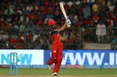 Manan Vohra swipes one over midwicket, Royal Challengers Bangalore v Mumbai Indians, IPL 2018, May 1, 2018