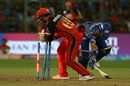 Quinton de Kock's glovework catches JP Duminy short, Royal Challengers Bangalore v Mumbai Indians, IPL 2018, May 1, 2018