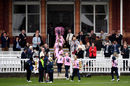 MCC members watch MCC women play Middlesex women, Lord's, April 18, 2018