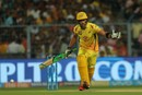 Faf du Plessis is ready for a rare T20 event: the quick single, Kolkata Knight Riders v Chennai Super Kings, IPL 2018, Kolkata