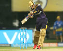 Shubman Gill punches one on the up, Kolkata Knight Riders v Chennai Super Kings, IPL, Kolkata, May 3, 2018