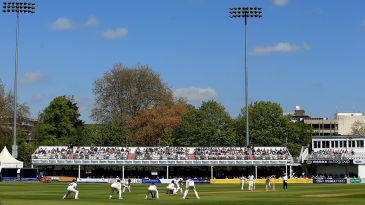 A view of the County Ground, Chelmsford