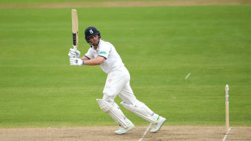 Jonathan Trott, in the familar routine
