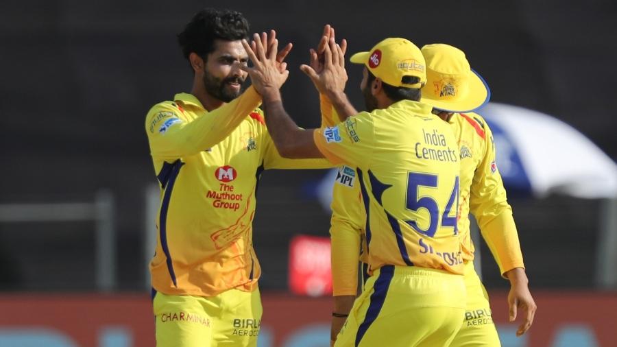Ravindra Jadeja ripped through the heart of RCB's batting