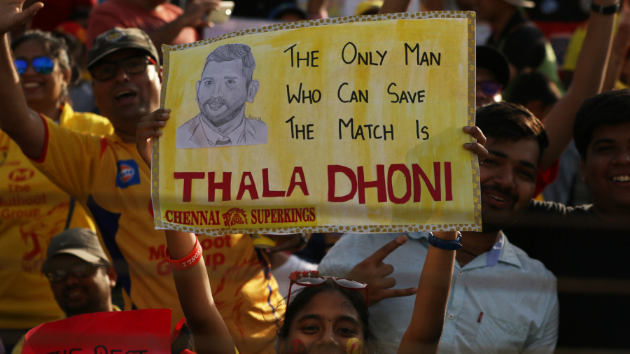 A fan seeks MS Dhoni's intervention to turn the run of play