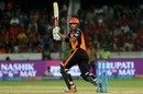 Alex Hales swivels into a pull, Sunrisers Hyderabad v Delhi Daredevils, IPL 2018, Hyderabad, May 5, 2018