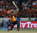 Yusuf Pathan launches one into the stands, Sunrisers Hyderabad v Delhi Daredevils, IPL 2018, Hyderabad, May 5, 2018