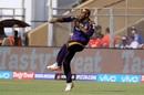 Andre Russell in action against Mumbai Indians, Mumbai Indians v Kolkata Knight Riders, IPL 2o18, Mumbai, May 6, 2018