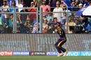 Rinku Singh takes a catch to send back Rohit Sharma, Mumbai Indians v Kolkata Knight Riders, IPL 2018, Mumbai, May 6, 2018