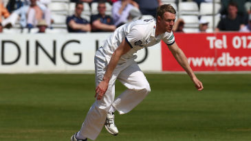 Steve Patterson finished with a career-best six wickets