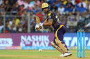 Nitish Rana guides one towards third man, Mumbai Indians v Kolkata Knight Riders, IPL 2018, Mumbai, May 6, 2018