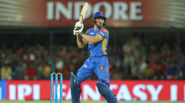 Jos Buttler flays one behind square