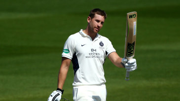Dawid Malan made his first century of the season