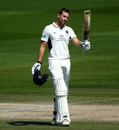 Dawid Malan made his first century of the season, Sussex v Middlesex, Specsavers Championship, Division Two, Hove, May 6, 2018
