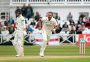 Stuart Broad sets off in celebration, Nottinghamshire v Hampshire, Specsavers Championship, Division One, Trent Bridge, May 4, 2018