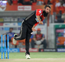 Moeen Ali bowls on his IPL debut, Sunrisers Hyderabad v Royal Challengers Bangalore, Hyderabad, IPL 2018, May 7, 2018