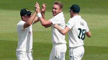 Stuart Broad picked up valuable wickets