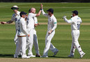 Chris Rushworth started Leicestershire's dramatic collapse, April 20, 2018