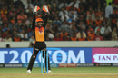 Wriddhiman Saha joins in an appeal, Sunrisers Hyderabad v Royal Challengers Bangalore, Hyderabad, IPL 2018, May 7, 2018