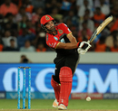 Colin de Grandhomme edges one fine, Sunrisers Hyderabad v Royal Challengers Bangalore, Hyderabad, IPL 2018, May 7, 2018