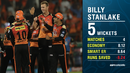 Graphic: Billy Stanlake impressed during his short stint in IPL 2018