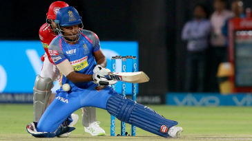 Sanju Samson fails to execute a premeditated scoop
