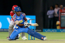 Sanju Samson fails to execute a premeditated scoop, Rajasthan Royals v Kings XI Punjab, IPL 2018, Jaipur, May 8, 2018