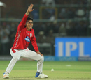 Mujeeb Ur Rahman appeals for a wicket, Rajasthan Royals v Kings XI Punjab, IPL 2018, Jaipur, May 8, 2018