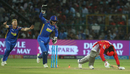 Fall of the empire: Jos Buttler and Ben Stokes erupt in celebrations after Chris Gayle is stumped, à la Imran Tahir, Rajasthan Royals v Kings XI Punjab, IPL 2018, Jaipur, May 8, 2018