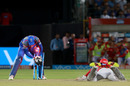 Jos Buttler runs out Axar Patel, Rajasthan Royals v Kings XI Punjab, IPL 2018, Jaipur, May 8, 2018