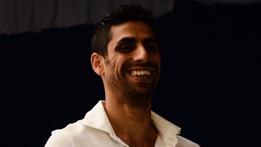 Ashish Nehra attends the opening of the Ashish Nehra academy in Allahabad