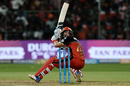 Brendon McCullum plays behind the wicket, Royal Challengers Bangalore v Mumbai Indians, IPL 2018, May 1, 2018