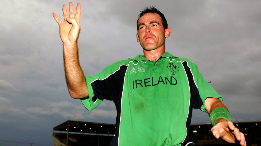 Trent Johnston's winning six off Azhar Mahmood knocked Pakistan out of the 2007 World Cup and gave Ireland four extra weeks in the Caribbean