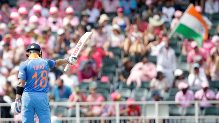 Virat Kohli is the only ODI batsman to have lasted over 50 balls per weighted innings at a strike rate exceeding 90