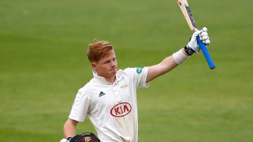 Ollie Pope acknowledges another hundred