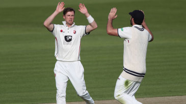 Matt Henry continued his wicket-taking form