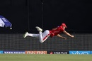 David Miller channels his inner Superman, Kings XI Punjab v Kolkata Knight Riders, IPL 2018, Indore, May 12, 2018