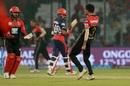 Yuzvendra Chahal enjoyed Prithvi Shaw's wicket, Delhi Daredevils v Royal Challengers Bangalore, IPL 2018, Delhi, May 12, 2018