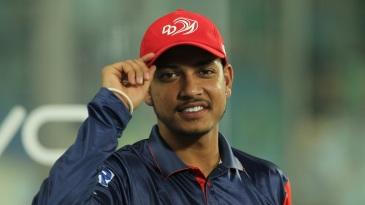 Sandeep Lamichhane on IPL debut