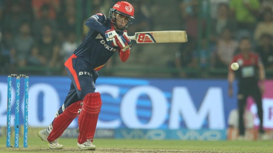 Abhishek Sharma punches one down the ground